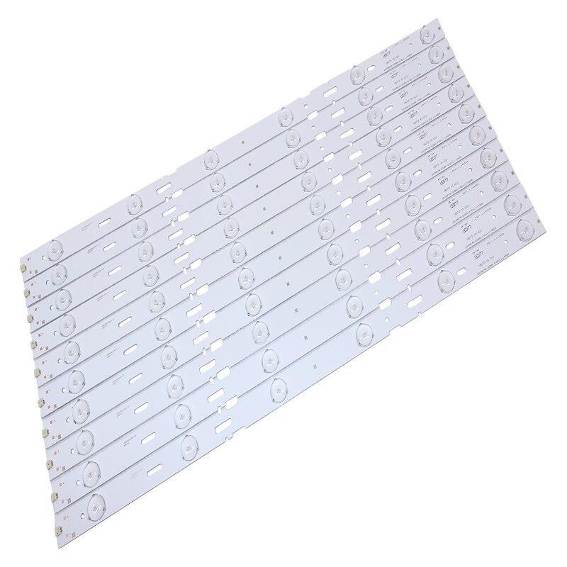 10 unids/set 100% nuevo 48 pulgadas tira de LED para iluminación trasera lámpara 2013ARC48-3228N1-6-REV1.1 para Sam sung LSC480HN05-A48-LB-6436/B48-LW-5433