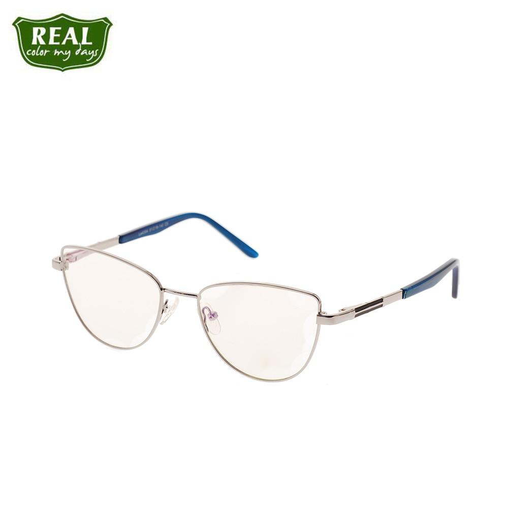 Hot selling classic metal spectacle frame women men optical frames myopic full eyewear