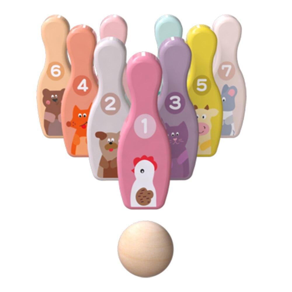 الأطفال البولينج اللعب 1-3-6 yearolds مجموعة الروضة داخلي الطفل الكرة في الهواء الطلق الوالدين والطفل الرياضة