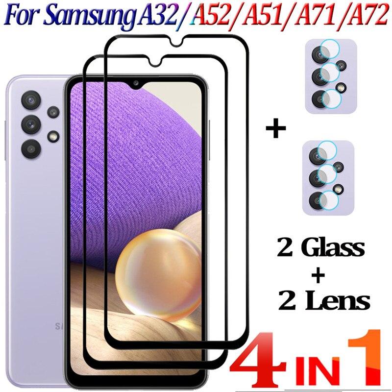 Cristal Templado Samsung Galaxy A32,A52 A51 Protector de pantalla Galaxy A32 A71...