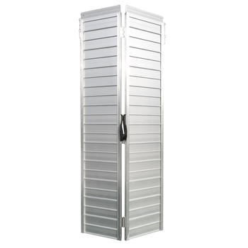 6 Ft Home Corridor Aluminum Alloy Folding Ramp Silver