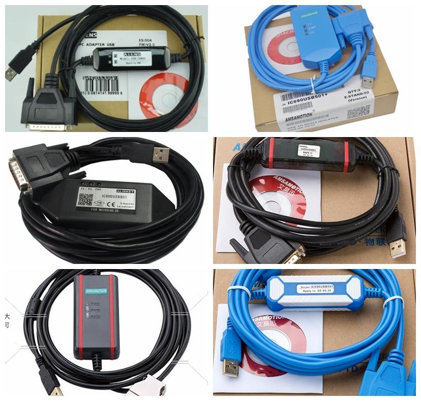 IC690USB901 GE GE90-30 GE90 Cable de programación USB SNP mejor PLC adaptador USB-SNP GE90-30 GE90-70