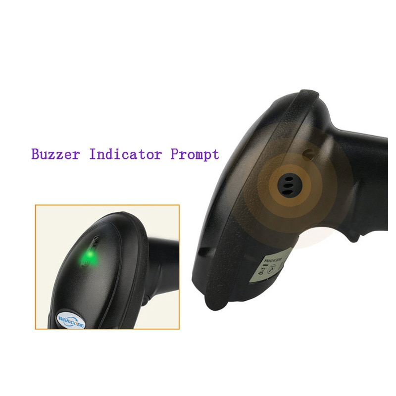 4G Wireless Barcode Scanner CCD Manual Scan Supermarket Cashier 1D Barcode Reader Plug and Play Rechargeable High Speed Scanner enlarge