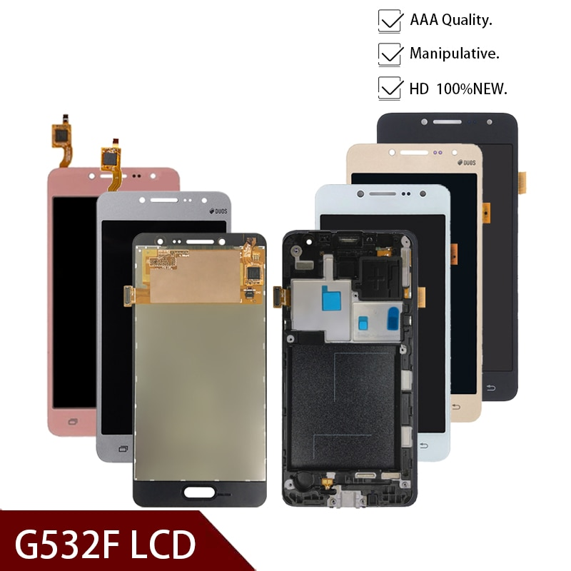 Nuevo LCD G532 Original de 5 pulgadas para Samsung Galaxy J2 Prime, pantalla táctil, ensamblaje digitalizador G532F Lcd, envío gratis