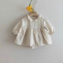 Barboteuse mignonne avec chapeau pour bébé   3624 jours, avec chapeau pour enfant Bo Dot, maillot de corps pour bébé fille, vêtements de fête pour nourrissons