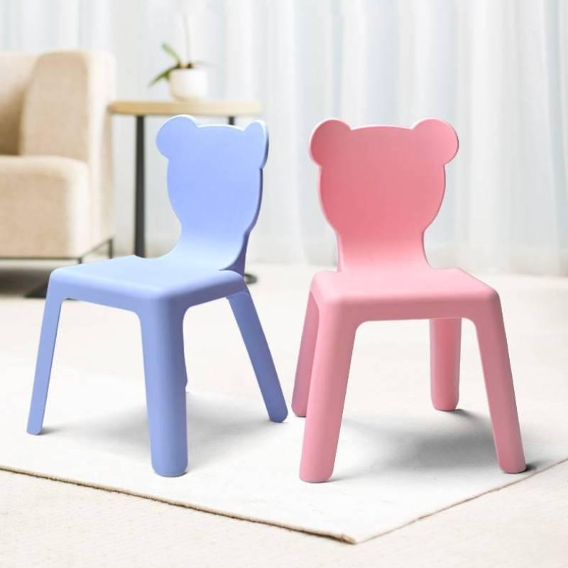 Стулья для кухни, плотная скамейка, детское спинное кресло, детское обеденное сиденье, мебель, пластиковые Нескользящие маленькие стулья, д...