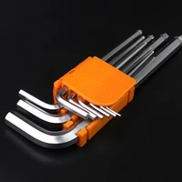 9pcsset allen key set hex wrench torx star keys tool l type screwdriver set hexagon spanner universal ball end hand tools kit