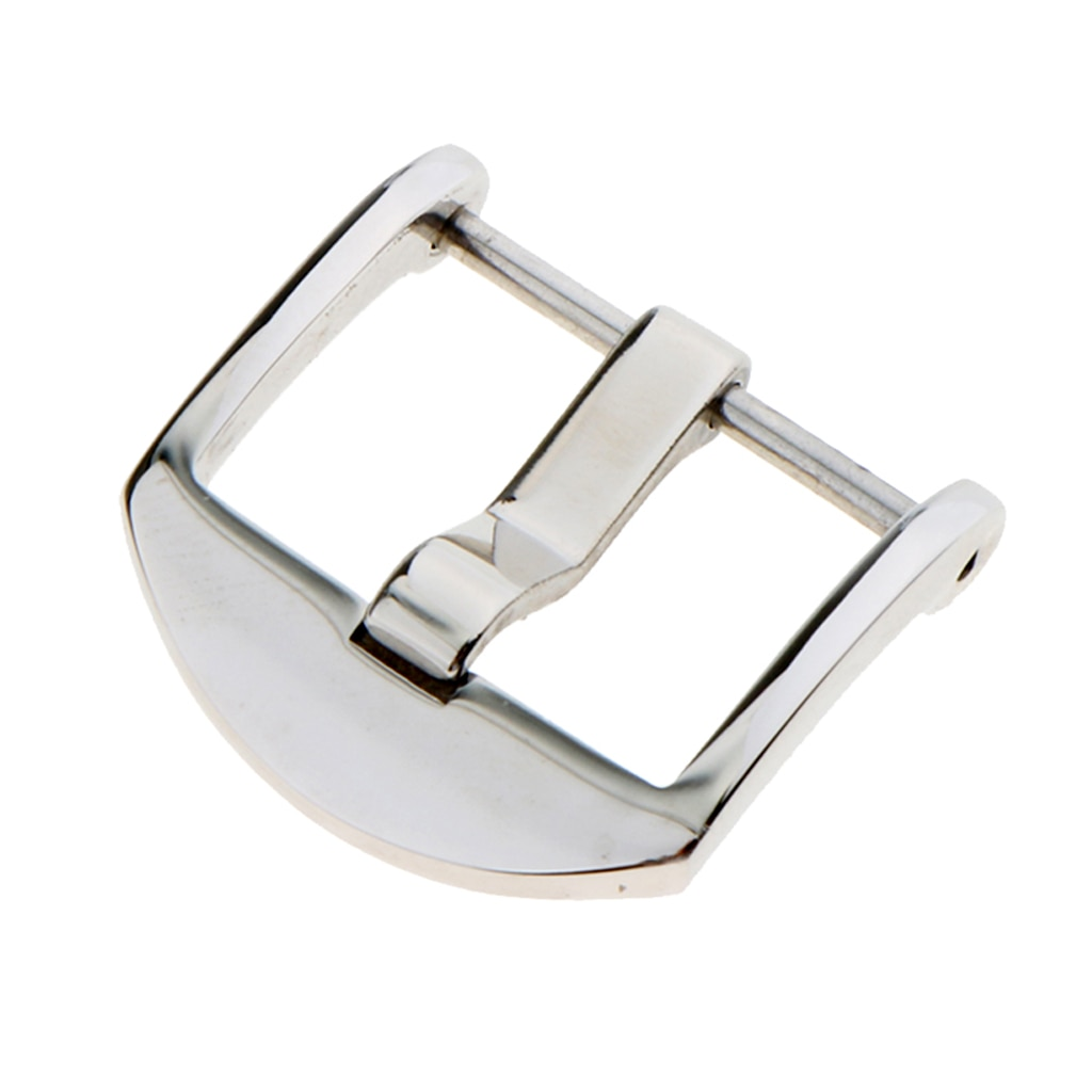 20mm 22mm Craft Durable Leather Stainless Steel Belt Buckle Men Accessories Polishing Pin Tools for Watch Strap Band