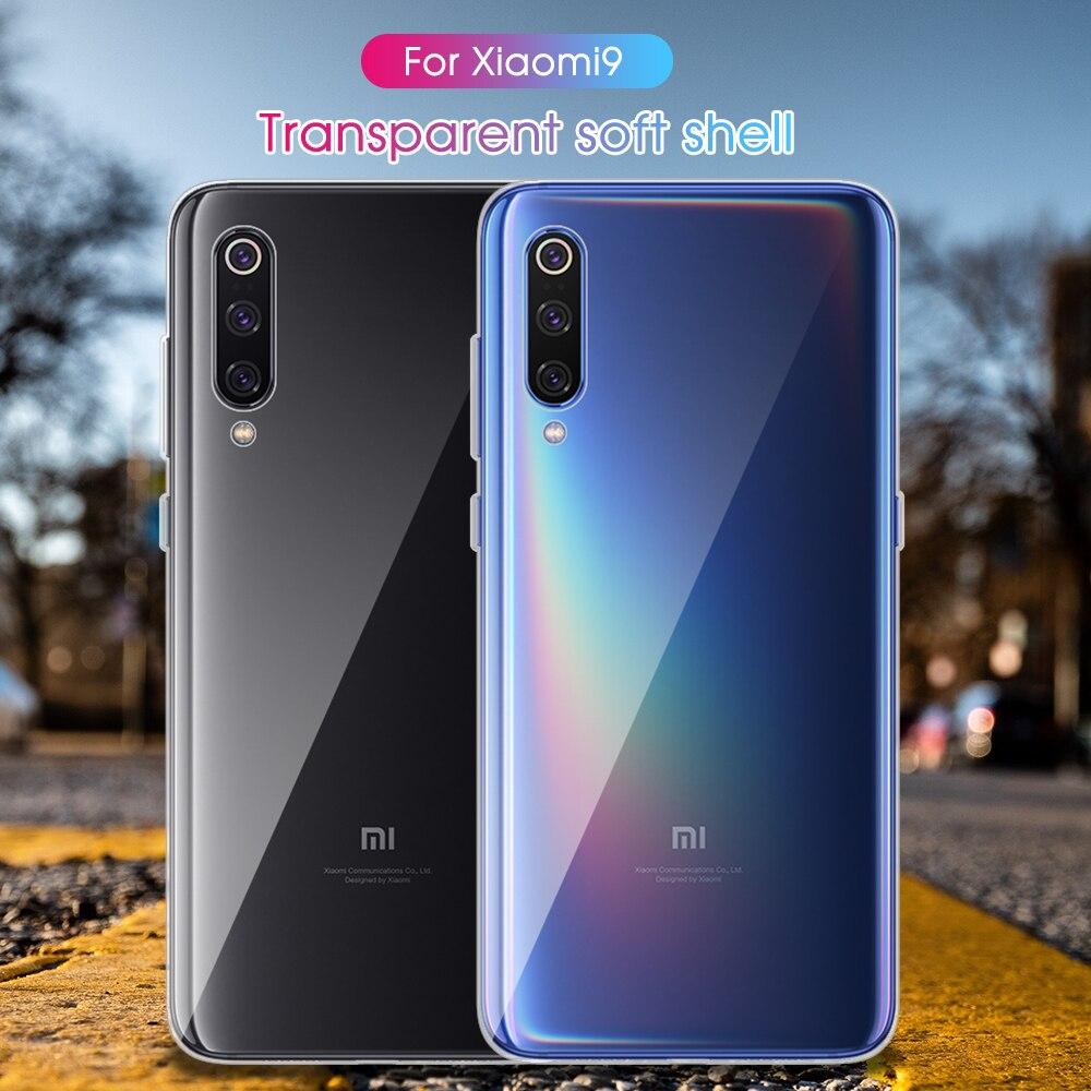 Transparent Case For Xiaomi Redmi Note 7 6 Pro 6 6A 7 Ultra Thin Case For Xiaomi Mi 9 SE 8 5X A1 6X
