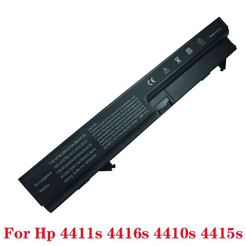 Batterie dordinateur portable pour HP ProBook 4410s 4411s 4415s 4416s 4410t batterie pour HP 4411 NZ374AA Mobile Client mince