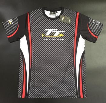 New Superbike Motorcycle TT shirt Dirt Bike Breathable Shirts Isle of Man Racing Fans T-shirt