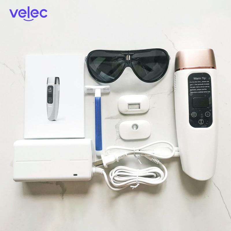 Velec 600000 Flashes IPL Laser Hair Removal For Women Bikini Body Facial Hair Remover Device Painless Permanant Laser Epilator enlarge