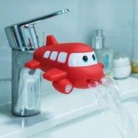 Extension de robinet de salle de bains pour enfants  a economie deau  dessin anime  lavage a la main  salle de bains