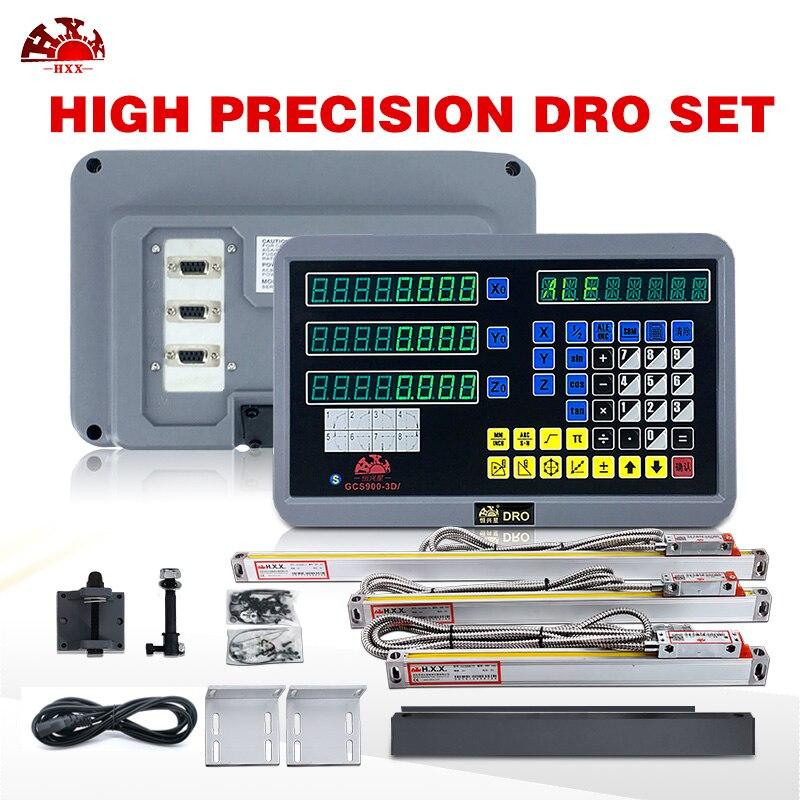2019 hxx bom valor 2 linha central digital readout dro com 2 pces 5u 50-1000mm codificador/sensor de escala linear óptica