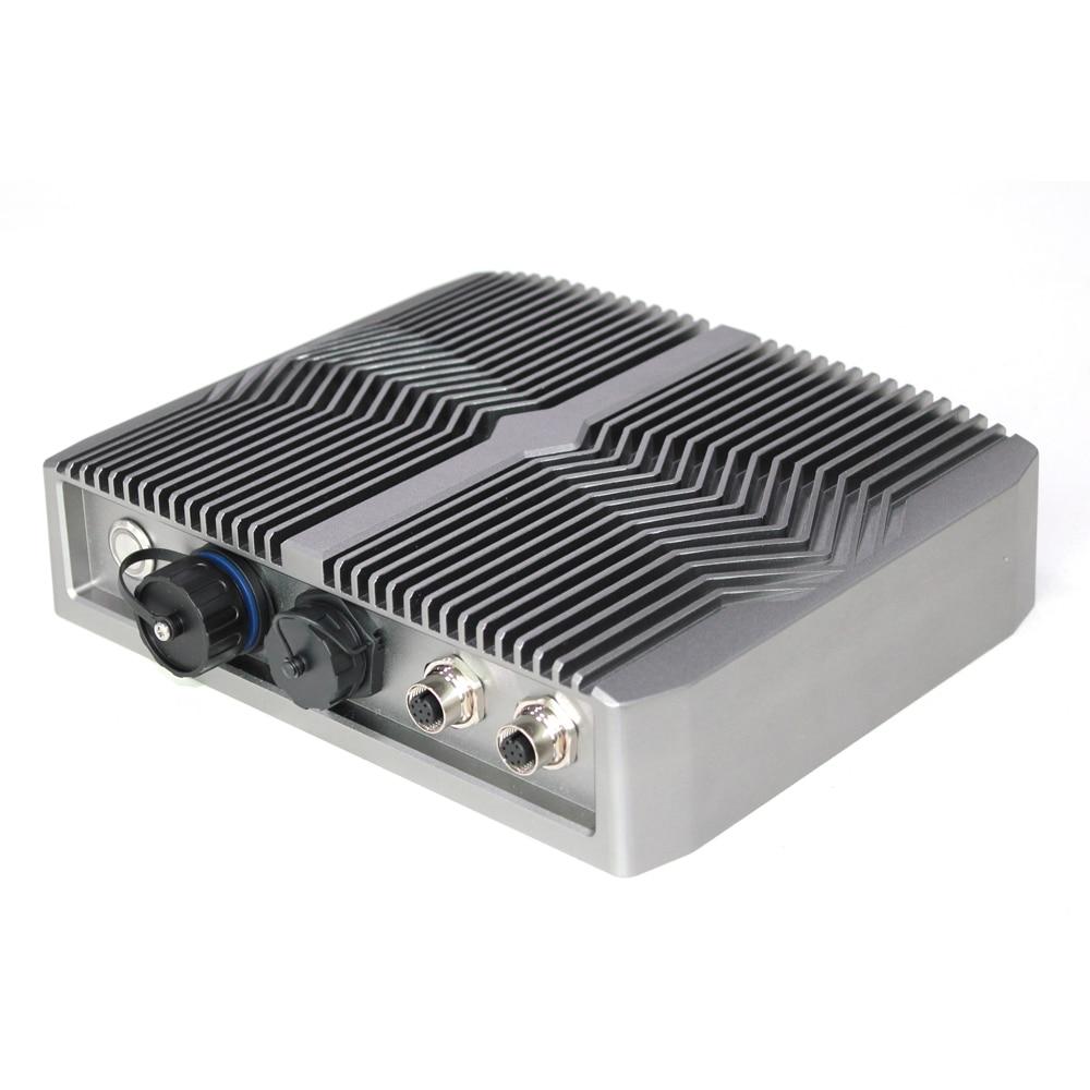 Fanless Mini PC Intel Celeron J1900 4305U i3-8145U i5-8265U HD RS232/HD-MI/VGA/USB/WiFi Windows 10 waterproof Industrial pc