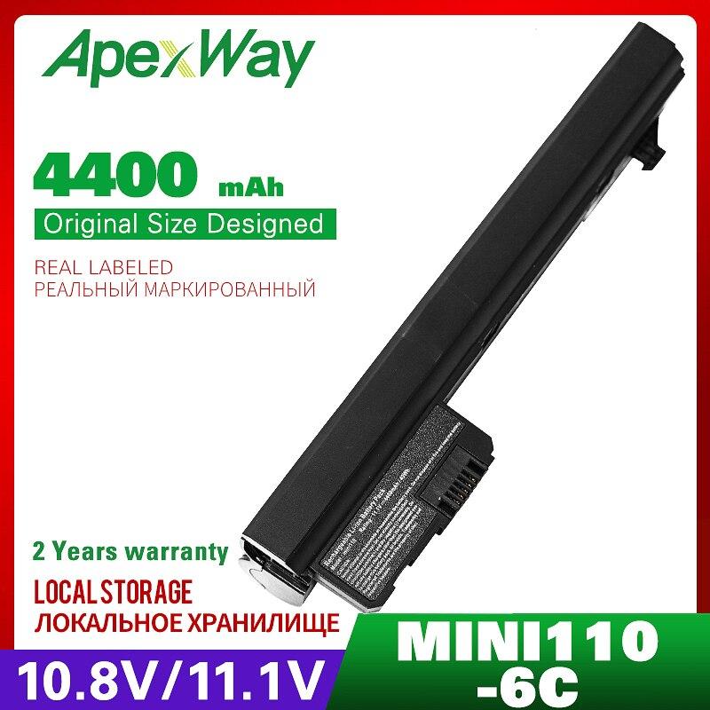 4400mAh bateria do portátil para HP Mini 110 Mi 110 XP 110-1000 110-1100 102 110c-1000 110c-1100 CQ10-100 CQ10-110 CQ10-120 CQ10-130