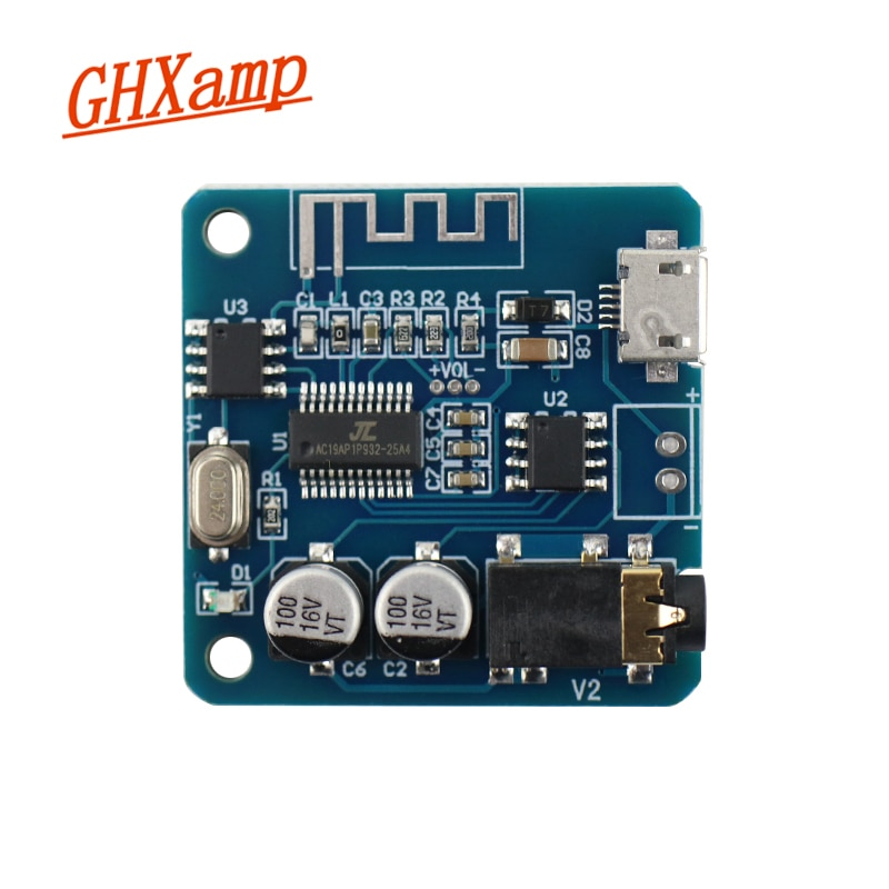 GHXAMP, actualización 5,0, módulo Bluetooth, tablero decodificador receptor Bluetooth, transmisión sin pérdidas, APE FLAC MP3 WAV USB DC5V