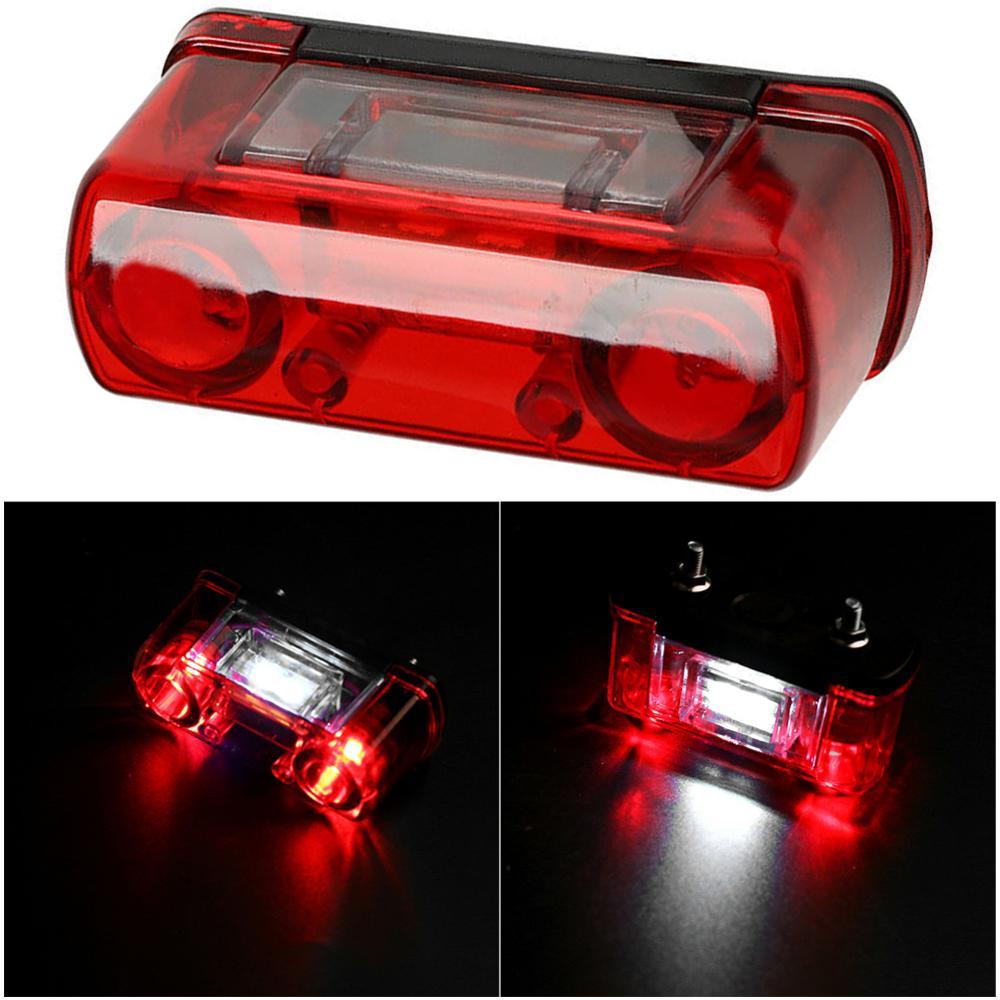 1 Uds. Luz LED impermeable de matrícula de coche 12V 24V luz de matrícula para coche camión luz trasera de remolque rojo blanco CSV