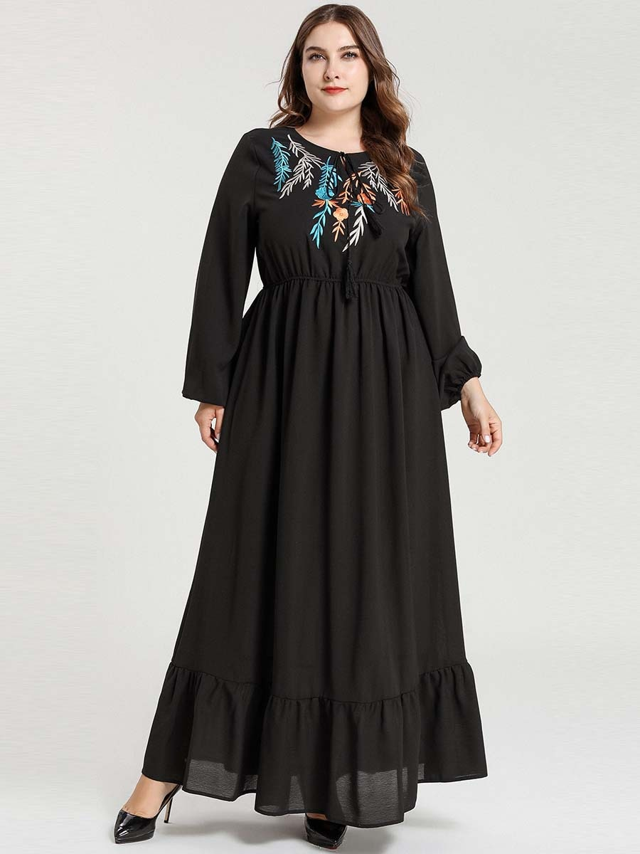 Mujeres Musulmanas Turquía abierto Abaya vestido islámico árabe Dubai mujer manga larga Maxi Kaftan Ramadan modestamente árabe islámico ropa 2019