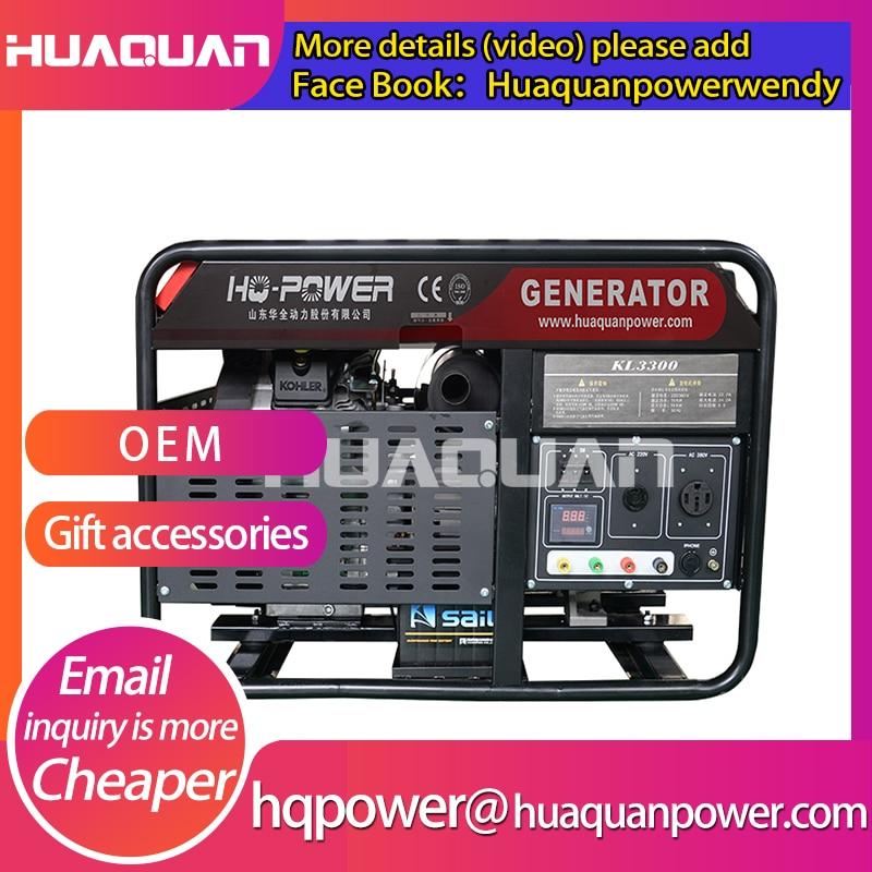 Низкая цена 16kw 20 kva 110В 220В бензиновый генератор
