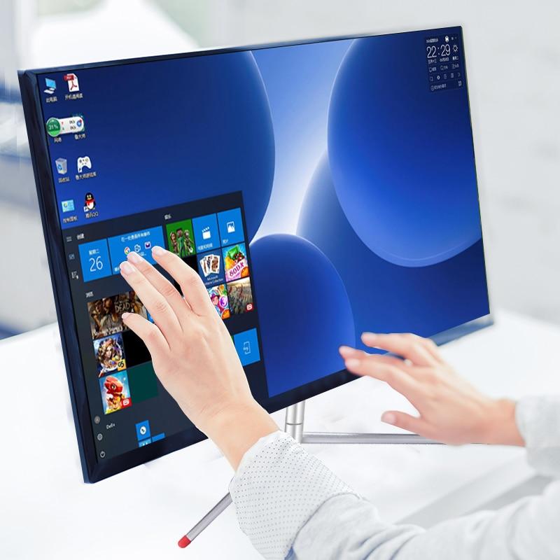 IPS 24 بوصة شاشة LCD لاعب شاشة تعمل باللمس HD شاشة عرض ألعاب HDMI شاشات الكمبيوتر PC 1920*1080p يعرض لسطح المكتب IPS 24