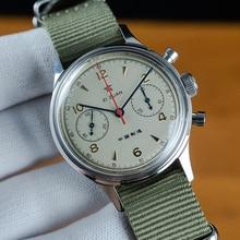 Men's Sport Watches Sapphire Mechanical Military Watch for Men Pilot Mens Chronograph Seagull 1963 s