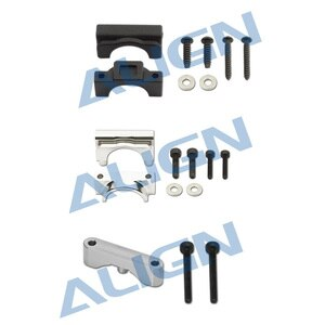 Align Trex 470L 470LT Plastic Stabilizer Mount Metal Vertical Stabilizer Bearing Block H47T013XXW H47T012XXW Parts RC Helicopter