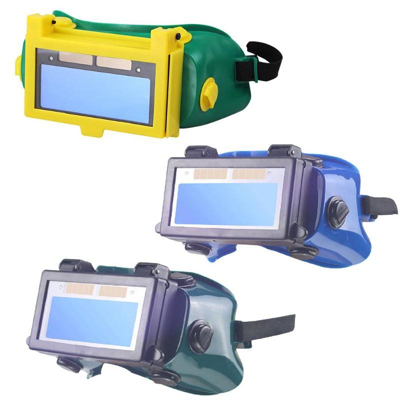 Careta Soldar Solar Auto Darkening Eye Mask Welding Mask Helmet Eye Glasses Goggles for Welder Welding Glasses