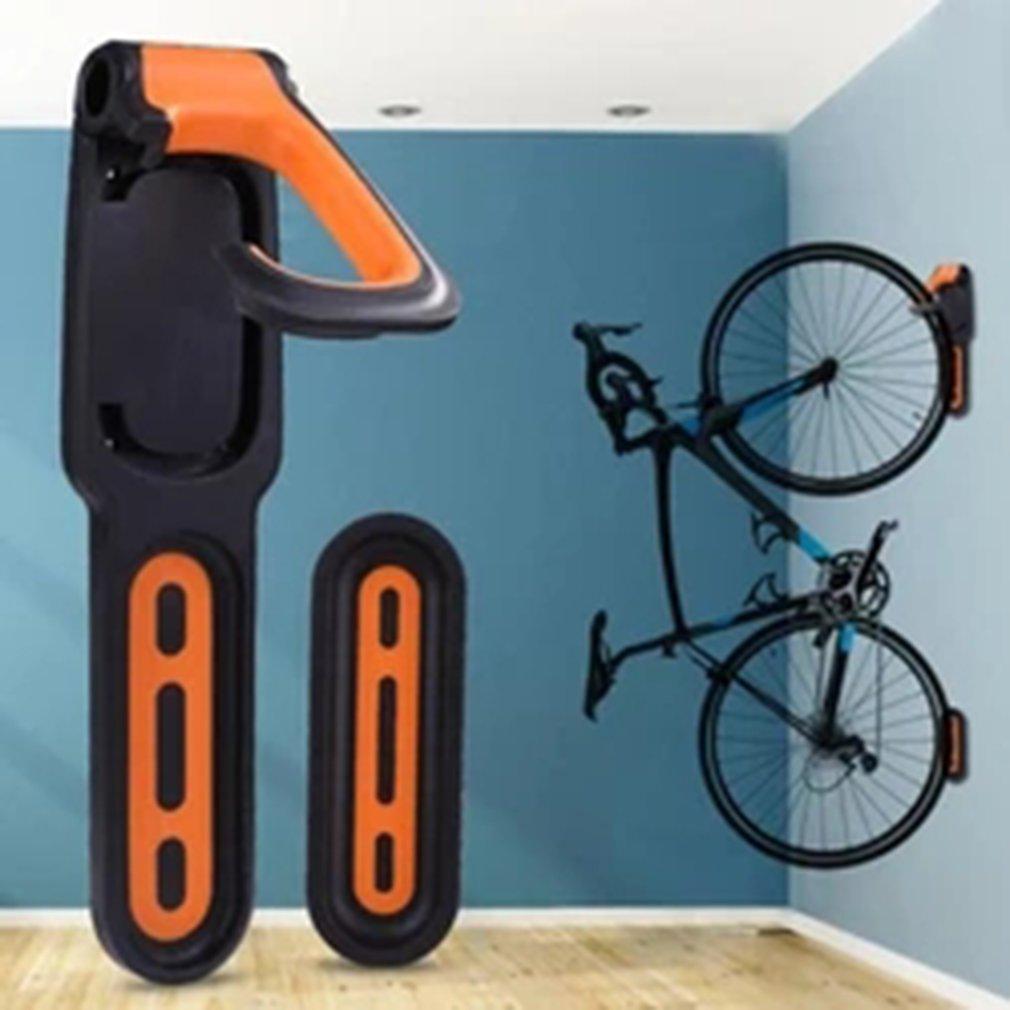 Bicicleta parede pendurado atividade gancho salvar espaço estável instalação resistente a riscos antiderrapantes acessórios de equipamento de bicicleta