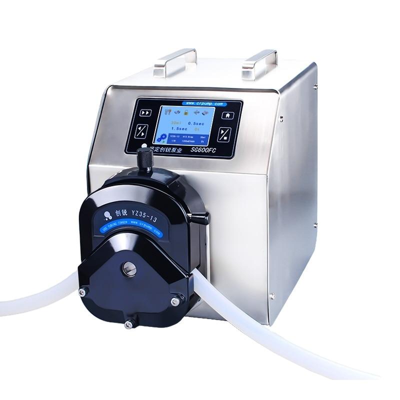 Chuangrui Large Flow Rate Peristaltic Filling Pump Liquid Filling Pumps enlarge