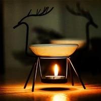 aromatherapy oil burner lamp candle two types candle holder incense burner aroma burner yoga meditation room home decorations