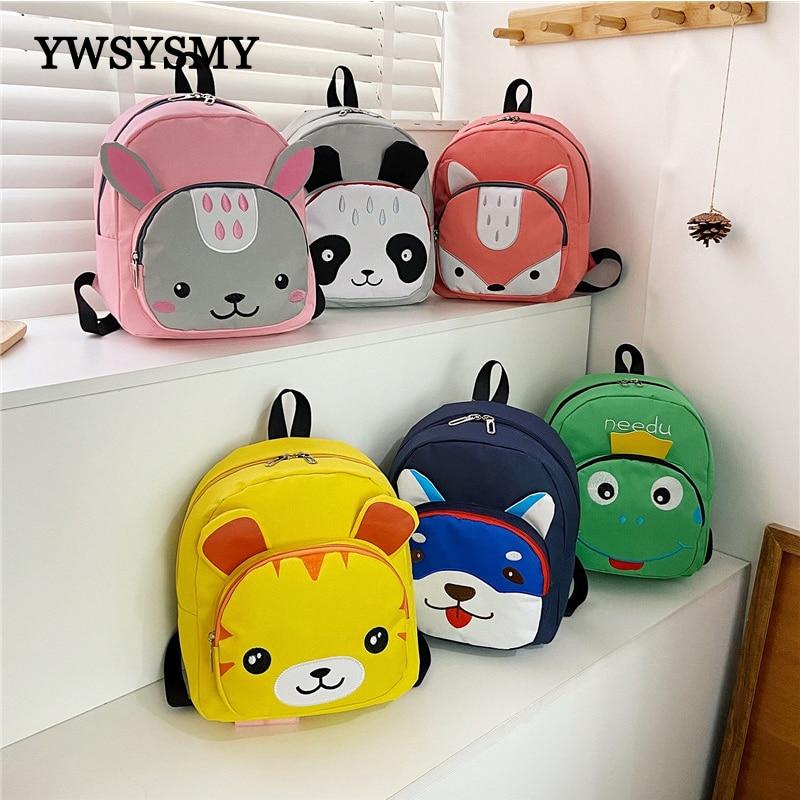 Детский Школьный рюкзак с мультипликационным рисунком, милый рюкзак для книг для школьные ранцы для мальчиков и девочек, маленькие рюкзаки ...