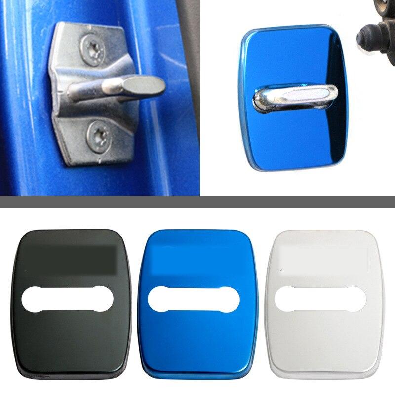 For BMW Door Lock Cover 1 2 3 4 5 7 Series X1 X2 X3 X4  X6 F30 F10 F15 F16 F34 F07 F01  F16 Car Metal Door Lock Cover
