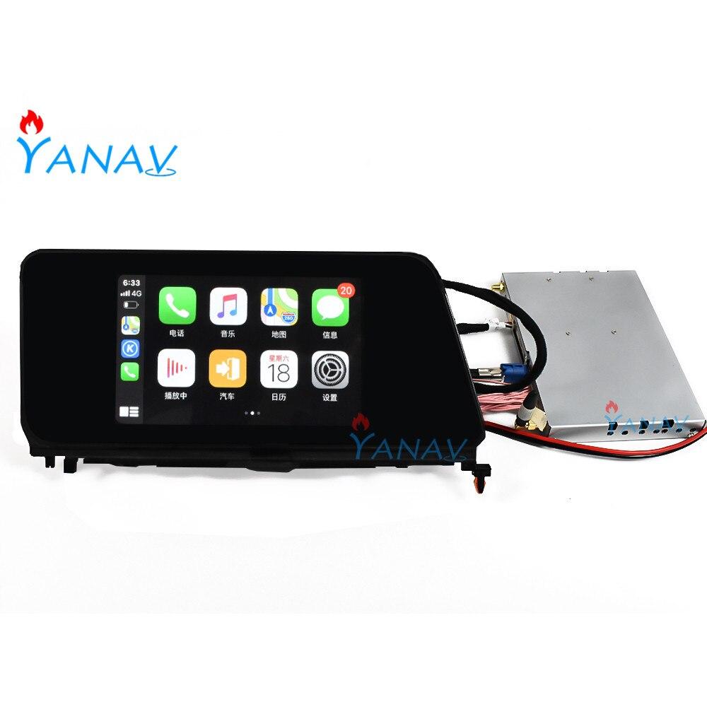 Sistema Android, actualización de Interfaz de vídeo de coche para-Lexus RX RX300 RX350 RX450 2016-2019, navegación GPS, interfaz de reproductor Multimedia