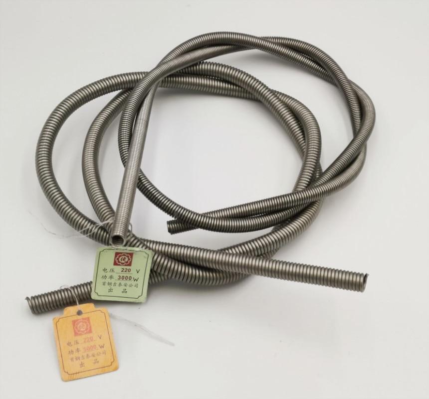 220v 300w 500w 600w 800w 1000/1200/1500/2000/2500/aquecedor de bobina, elemento de aquecimento da bobina do forno a1 kiln a1 600c alcromo 3000/4000/5000w