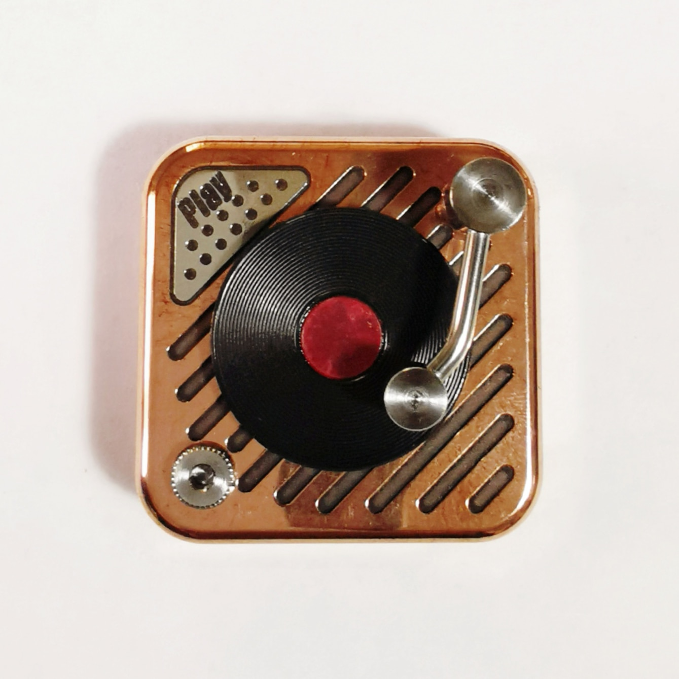 DZ series vinyl Lawrence PLAY copper brass decompression table fingertips gyro toys desk toy fidget toy fidget toys for anxiety enlarge