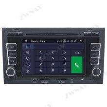 64 Android 10.0 lecteur multimédia de voiture pour Audi A4 2003-2012 pour Audi Seat Exeo 2009-2012 GPS Radio stéréo écran tactile unité principale