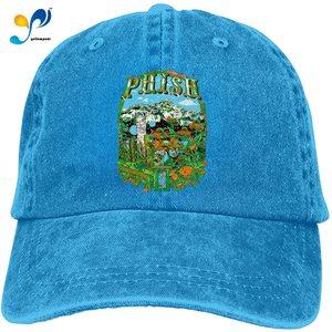 Phish Band Baseball Caps Mens Womens Camping Adult Adjustable Trucker Dad Hats Cowboy Hat Casquette Black