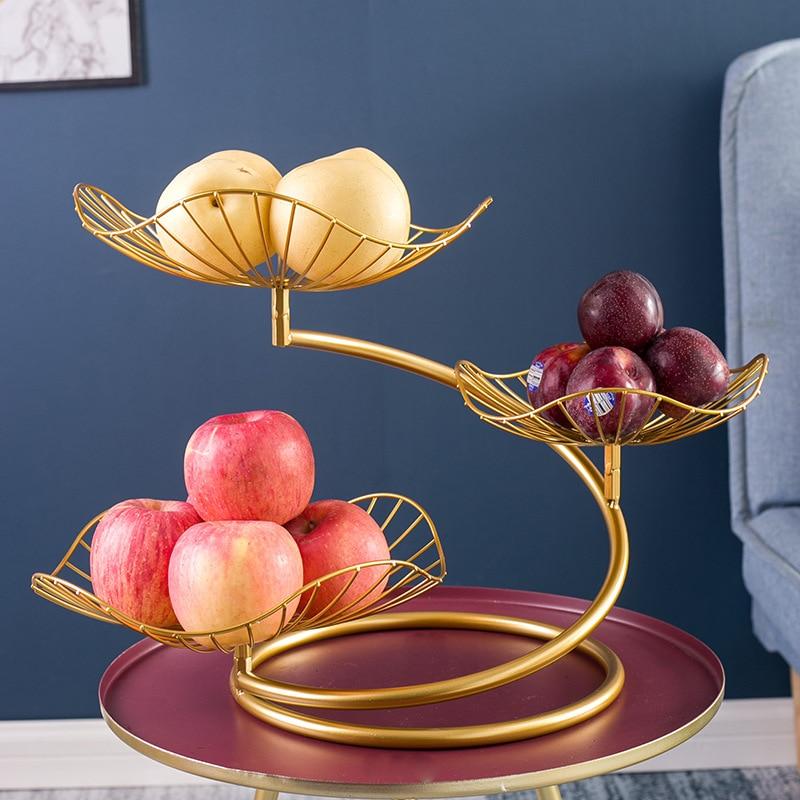 سلة فاكهة ، 3 الطبقة سلة فاكهة السلطانية الخضار المنظم للمطبخ ، تخزين الخضروات انفصال
