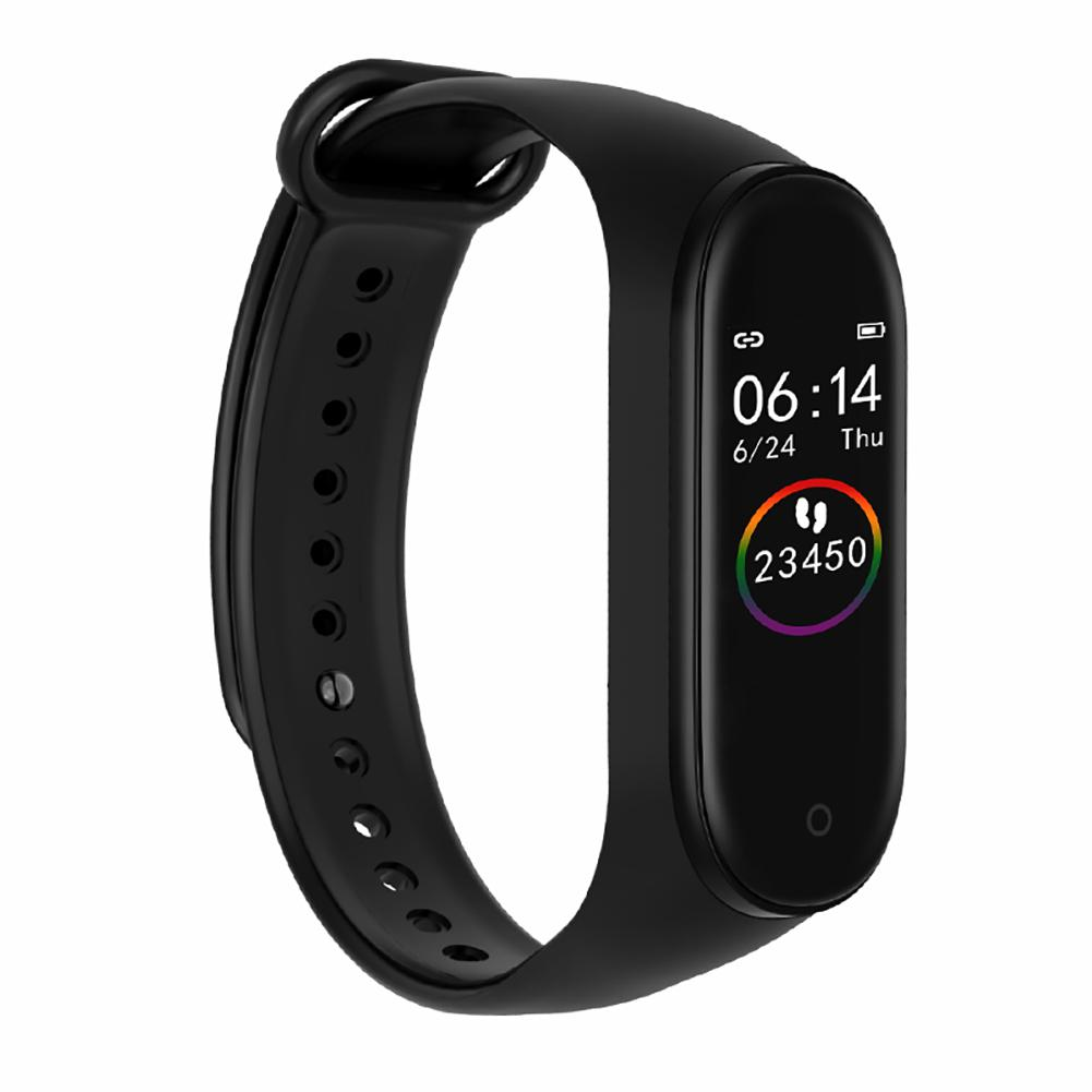 M4 Sport Smart Band Fitness Silicone Smart Watch Smart Bracelet Heart Rate Blood Pressure Health Car