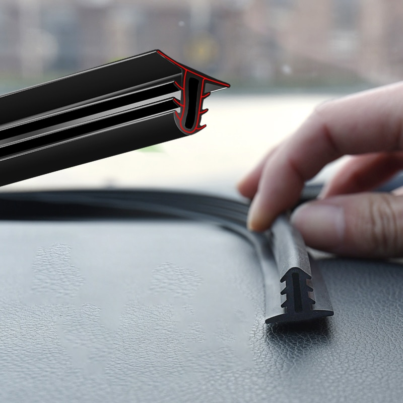 Car Sticker Dashboard Sealing Strips Rubber Seals Sound Insulation Sealing Universal Automobiles Int