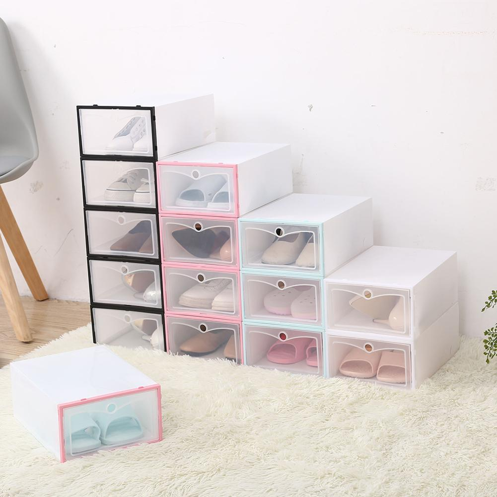 2021 ShoeBox Drawer Organizer Household Drawer Divider Home Shoe Box