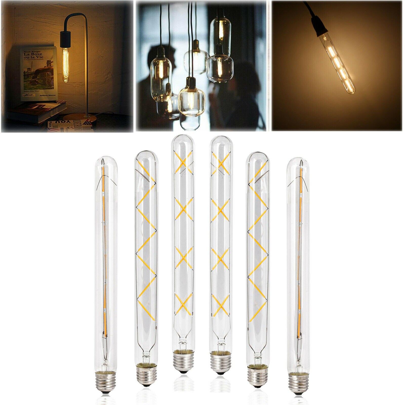 220 В светодиодный ро винтажная Светодиодная лампа накаливания Эдисона E27 T30 лампа теплого белого света декоративсветильник пы Эдисона