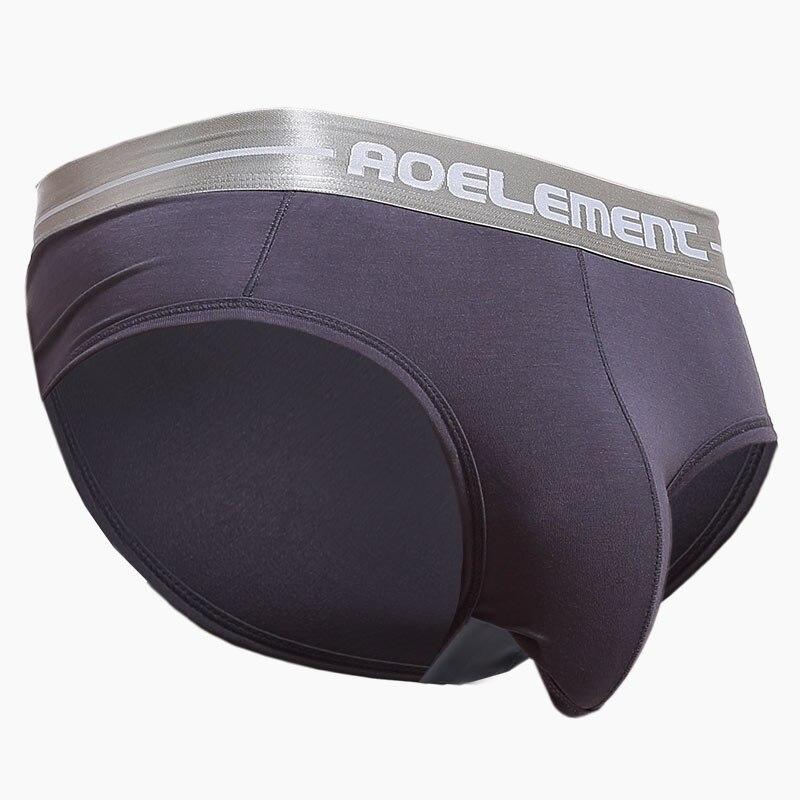 Mannen Ondergoed U Stijl Down Solid Modal Katoen Stretch Plus Size XL-4XL Slips Geschikt Voor Ademende Ondergoed 046