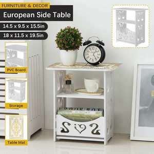 Современный простой журнальный столик, маленький боковой столик, журнальный столик для гостиной, стол для отдыха, стойка для хранения журналов, стол с вырезами