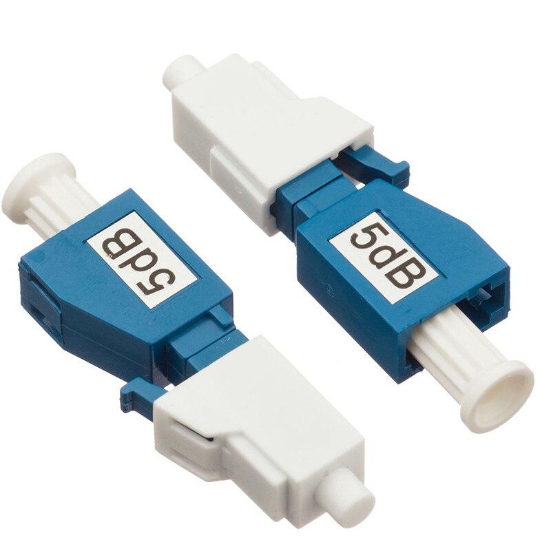 Conector rápido, acoplador de fibra 1dB ~ 15dB, atenuador óptico de fibra fija LC/UPC SM SX