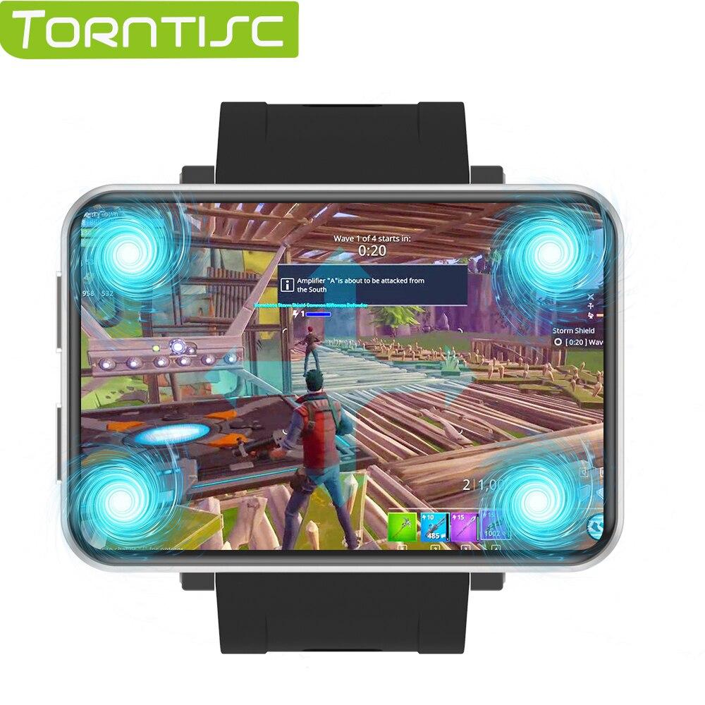 Torntisc lemt 4g relógio inteligente android 7.1 2.8 Polegada 640*480 tela 3 gb + 32 gb gps wifi 2700mah grande bateria smartwatch