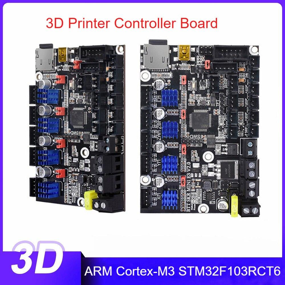 لوحة تحكم طابعة ثلاثية الأبعاد SKR MINI E3 V2.0 32 بت وحدة المعالجة المركزية محول وحدة اللوحة الرئيسية لملحقات كاملة 3 طابعة متسلسلة
