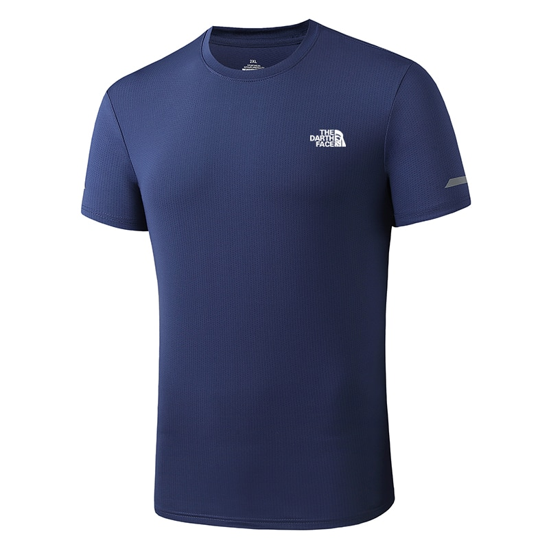 Men's Sports Quick-Drying Clothes Tee Quick Drying Breathable Outdoor Short Sleeve Top Fishing T Shirt Fishing Wear