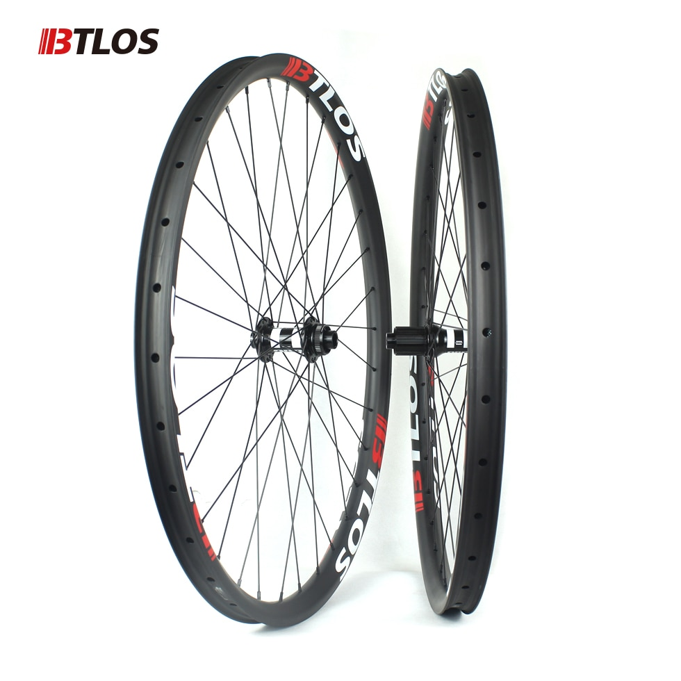 WM-i30-9  carbon mtb disc wheels 29er mtb wheelset mtb bike 35x25mm tubeless Mountain bicycle DT SWISS